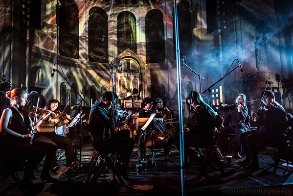 Stars of the Lid and Wordless Music Orchestra at Basilica Church (Sunset Park),  December 2013