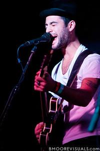 Daniel Silbert of Steel Train performs on December 7, 2010 at Orpheum in Ybor City, Tampa, Florida