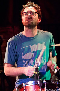 Jon Shiffman of Steel Train performs on December 7, 2010 at Orpheum in Ybor City, Tampa, Florida