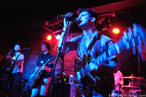 Daniel Silbert, Evan Winiker, and Jack Antanoff of Steel Train perform on December 7, 2010 at Orpheum in Ybor City, Tampa, Florida