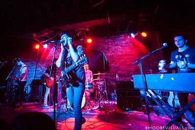 Daniel Silbert, Evan Winiker, Jack Antanoff, Jon Shiffman, and Justin Huey of Steel Train perform on December 7, 2010 at Orpheum in Ybor City, Tampa, Florida