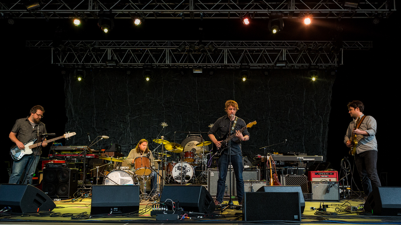 Steve Gunn at the Iroquois Amphitheater in Louisville, Kentucky shot by Vasquez Photography