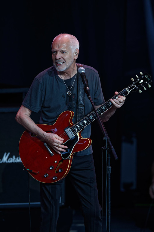 . Peter Frampton at DTE on 6-17-2018.  Photo credit: Ken Settle