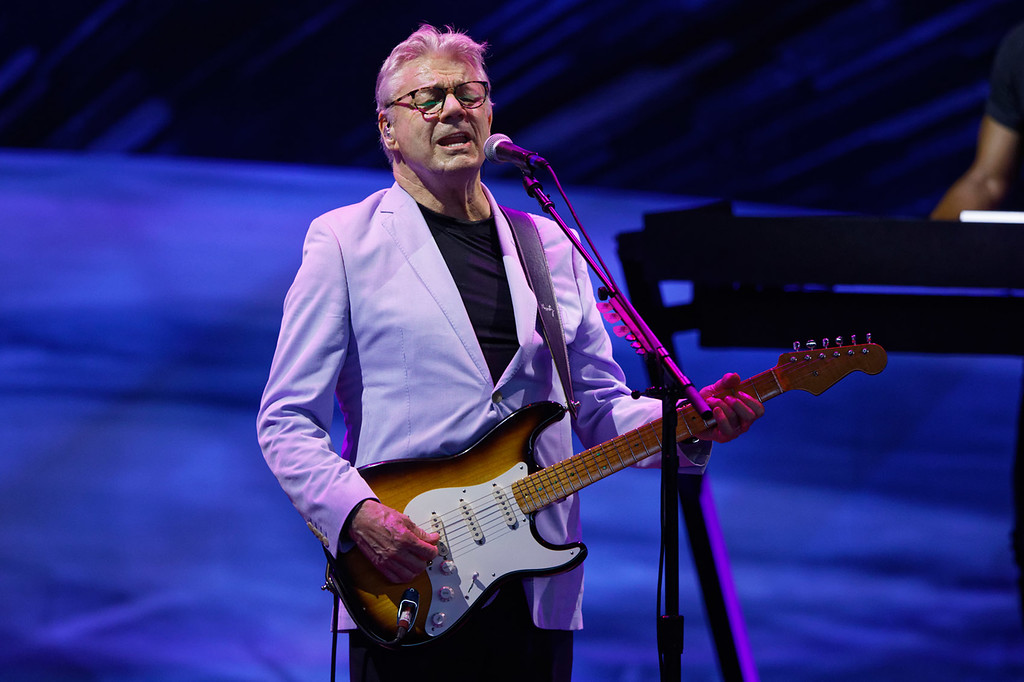 . Steve Miller Band at DTE on 6-17-2018.  Photo credit: Ken Settle
