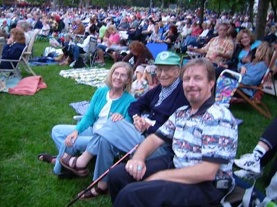 Steve Tyrell Picnic & Concert,<br> &nbsp Camarillo, CA