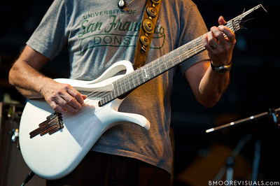 Jose Neto performs with Steve Winwood on July 31, 2010 at 1-800-ASK-GARY Amphitheater in Tampa, Florida