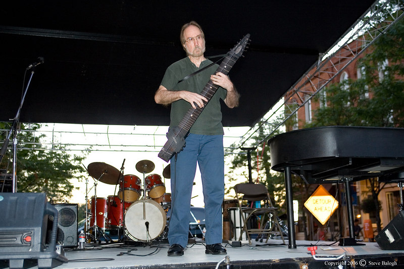Emmett Chapman, creator of the Chapman Stick, performing live, here in Ann Arbor Michigan.