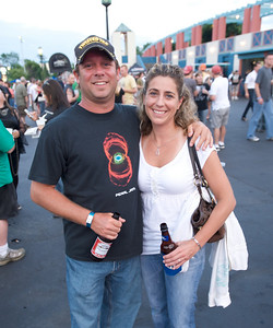 Kevin and Heather Morris of Terrace Park at PNC Pavilion for Stone Temple Pilots
