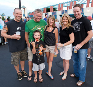 Scott, Rich, Nicole, Lisa and Doug with Orange Tongued Connor at PNC Pavilion for Stone Temple Pilots