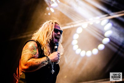 Nathan James Inglorious play the Tommy Vance Stage at Stonedeaf Festival 2019. Featuring Nathan James - Vocals, Danny De La Cruz - Guitars, Dan Stevens - Guitars, Vinnie Colla - Bass and Phil Beaver - Drums.       © Tony Burgum