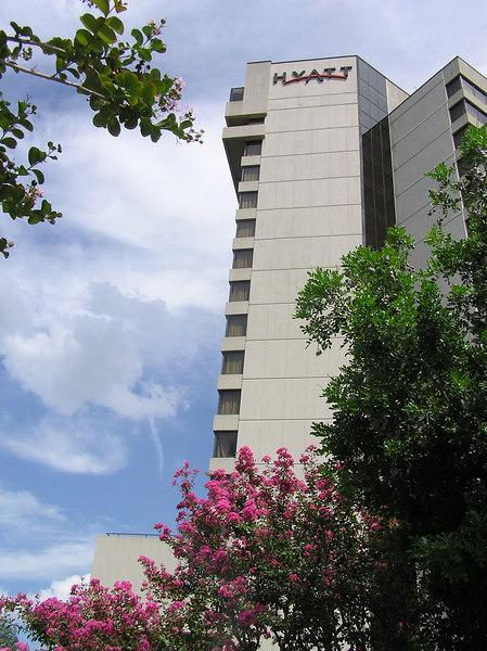 The Hyatt Regency Austin