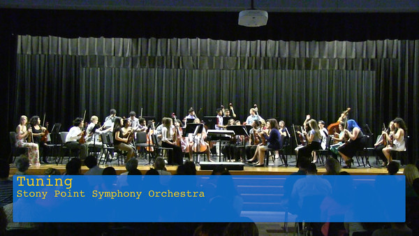 Stony Point Orchestra Spring Concert 2015