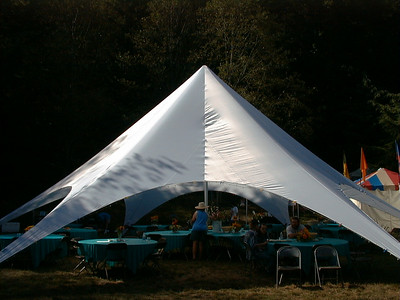 production tent