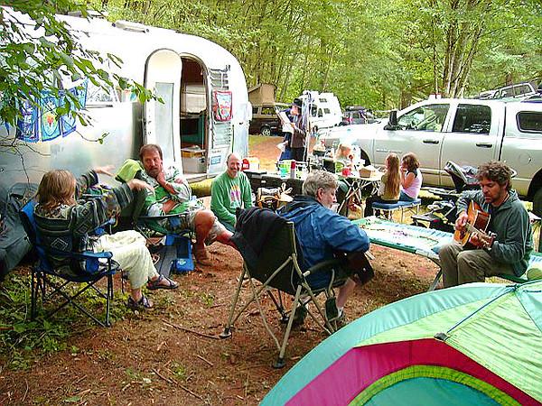 Nershi-Moseley Horning's Airstream Acoustic Jamboree 7-28-07