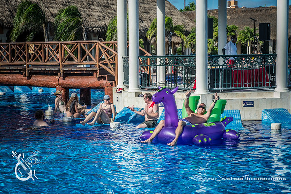 Strings & Sol Fans & Event Activities - 12/13/13 - Now Sapphire Resort, Puerto Morelos Mexico. ©Joshua Timmermans 2013