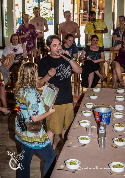 Guac Off with Jeff Austin - Strings & Sol 12/14/13 - Now Sapphire Resort, Puerto Morelos Mexico - Photo © Josh Timmermans 2013