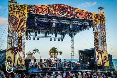 Leftover Salmon - Strings & Sol 12/14/13 - Now Sapphire Resort, Puerto Morelos Mexico - Photo © Josh Timmermans 2013