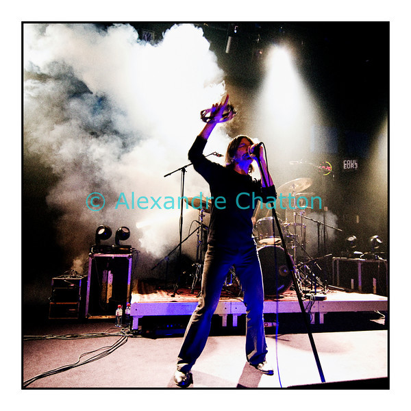 """Concert live et en public de The Young Gods sur Couleur 3 au Studio 15 le mardi 16 novembre 2010 pour la sortie de l'album """"Everybody knows""""."""