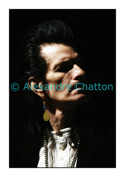 Willy DeVille le 10 mars 2008. RIP, Willy :-(