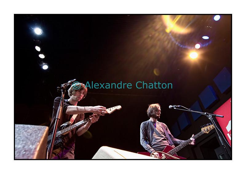 """24 février 2011: le groupe bâlois Navel en live dans """"El Blablo"""" en direct sur Couleur 3 dans les studios de la RTS à Lausanne."""