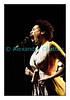 La chanteuse Sandra Nkaké en Session Paradiso au Studio 15 de la RSR à Lausanne le jeudi 4 mars 2010.