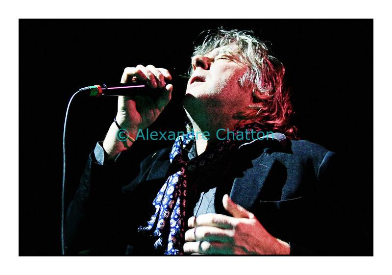 """Arno en Session Paradiso """"Polar & friends"""" au studio 15 de la RSR à Lausanne le 20 janvier 2007"""
