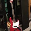 Stephen Tecci @ Entourage Studio, North Hollywood, CA. the 1966 Fender Jazz used on the studio.