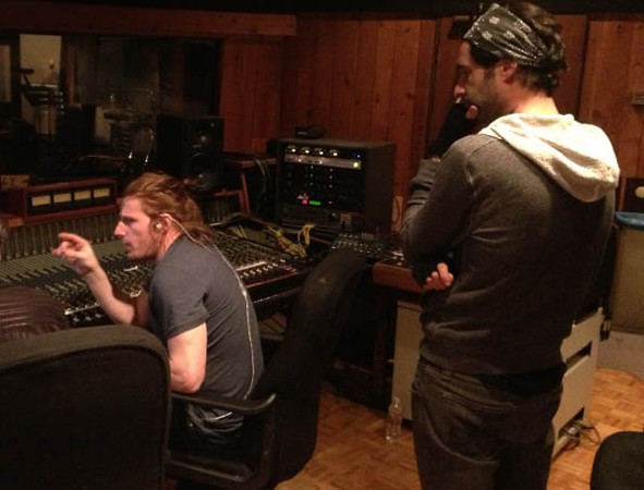 Stephen Tecci w Daniel Weber & Ken Wallace @ Entourage Studio, North Hollywood, CA.