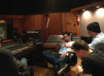 Stephen Tecci w Daniel Weber, Blake Paulson, & Ken Wallace @ Entourage Studio, North Hollywood, CA.