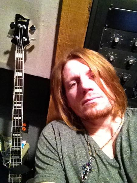 Stephen Tecci w/ Schecter Stargazer @ Entourage Studio, North Hollywood, CA.