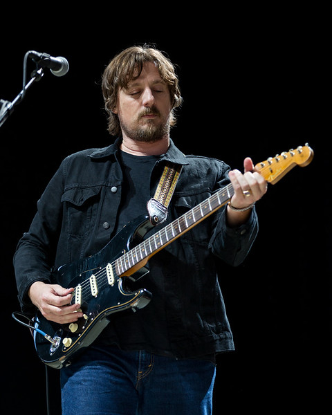 June 23, 2018 Sturgill Simpson at the Outlaw Music Festival in Indianapolis, Indiana.