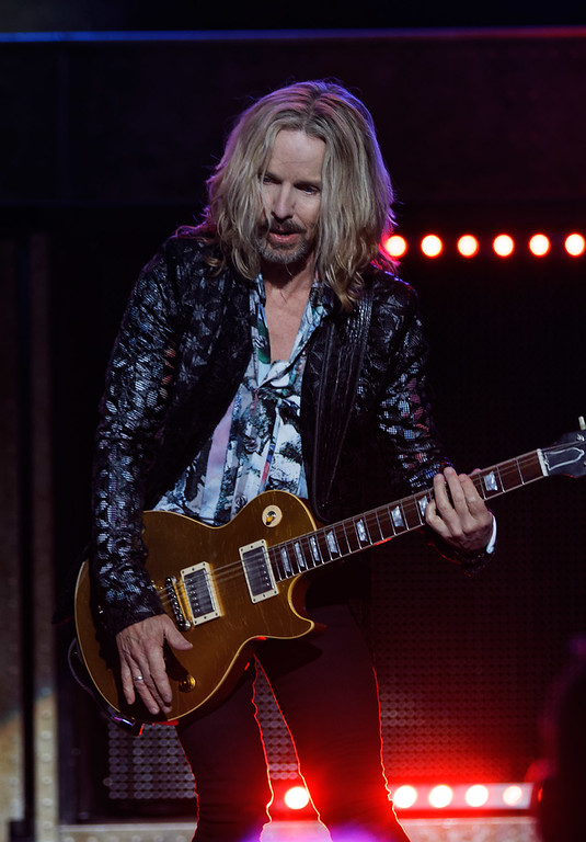 . Styx  live at DTE Music Theatre on 7-6-18. Photo credit: Ken Settle