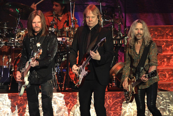 Ricky Phillips, James Young and Tommy Shaw