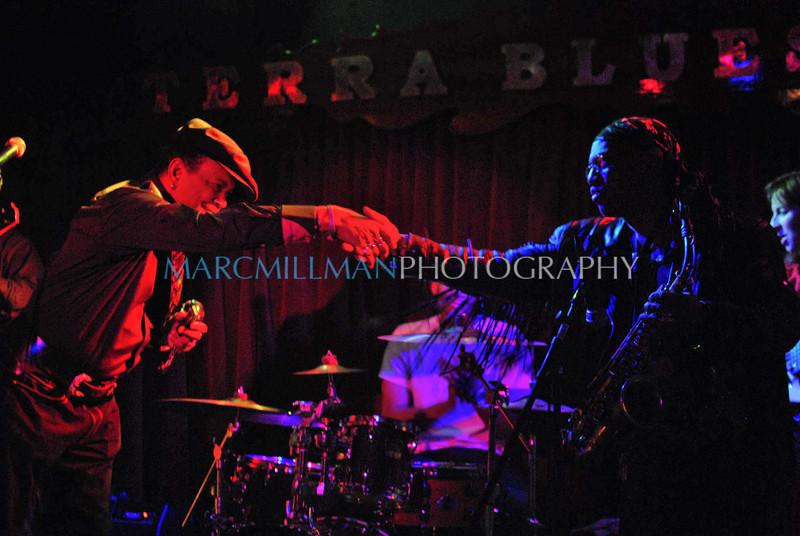 It's been real<br /> <br /> Sugar Blue & Chuckie Hancock<br /> Sugar Blue @ Terra Blues (Thur 4 22 10)