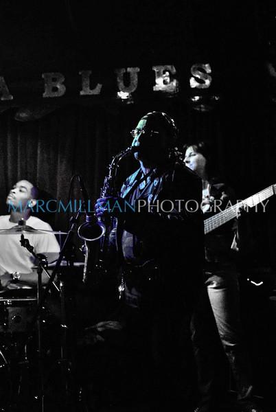 Blue Chuckie<br /> <br /> Chuckie Hancock<br /> Sugar Blue @ Terra Blues (Thur 4 22 10)