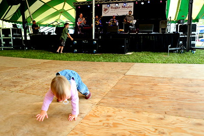 Is it learn to crawl before you dance (or dance until you drop) ??