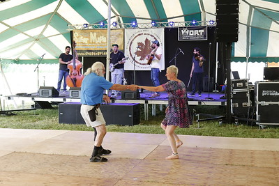 Dancing to Al Scorch & the Country Soul Ensemble