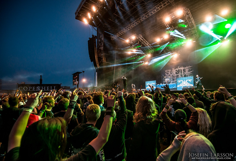 Suicide Silence - Copenhell 2014