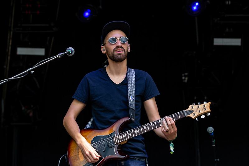 Aqueous on the Moonshine Stage at Summer Camp Music Festival 2019. Photo by  Tony Vasquez