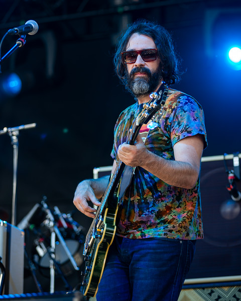 Chris Robinson Brotherhood on the Sunshine Stage at Summer Camp Music Festival 2019. Photo by  Tony Vasquez
