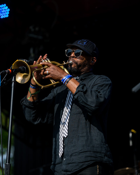 The Soul Rebels on the Moonshine Stage at Summer Camp Music Festival 2019. Photo by Tony Vasquez