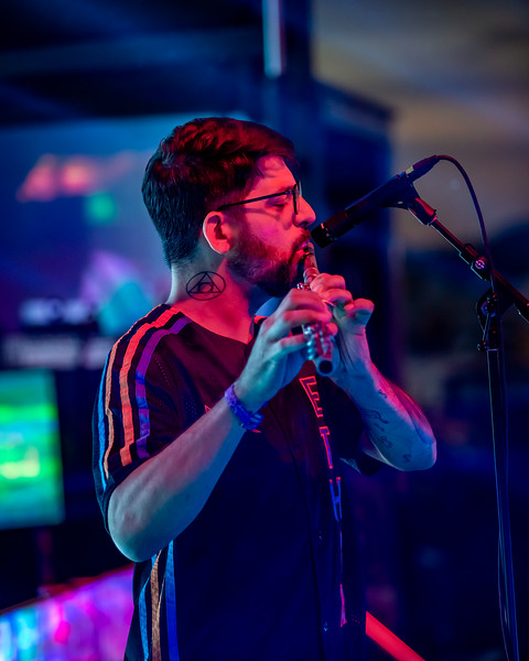 Russ Liquid on the Starshine Stage at Summer Camp Music Festival 2019. Photo by  Tony Vasquez