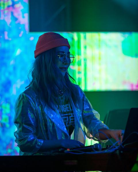 Tokimonsta on the Starshine Stage at Summer Camp Music Festival 2019. Photo by Tony Vasquez