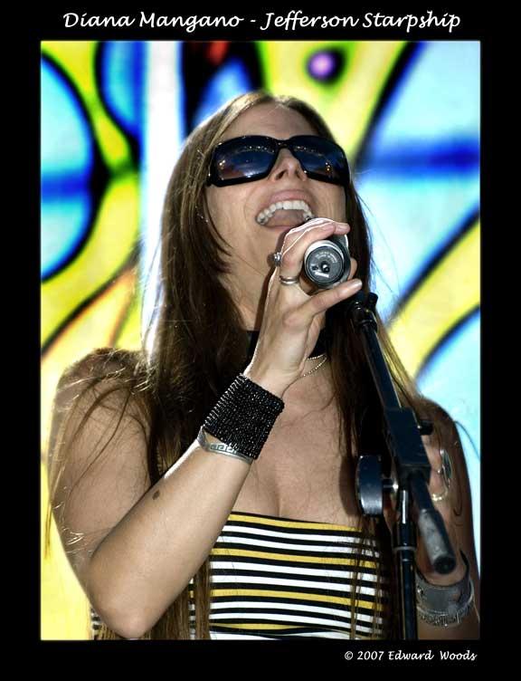 Diana Mangano - Jefferson Starship
