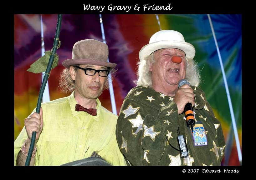 Wavy Gravy and Friend