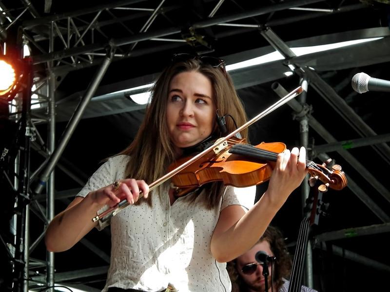 """""""Hannah Rickard and Gathering Sky,"""" SummerTyne Americana Festival 2013"""