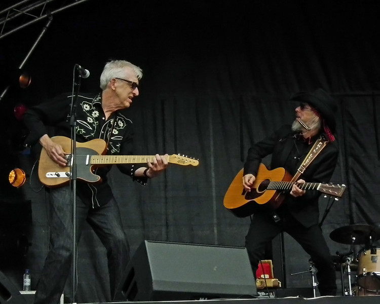 The Mighty Phil Lee and Bill Kirchen at SummerTyne Americana Festival 2013