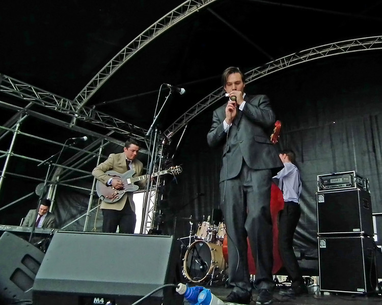 The King Bees at SummerTyne Americana Festival 2013
