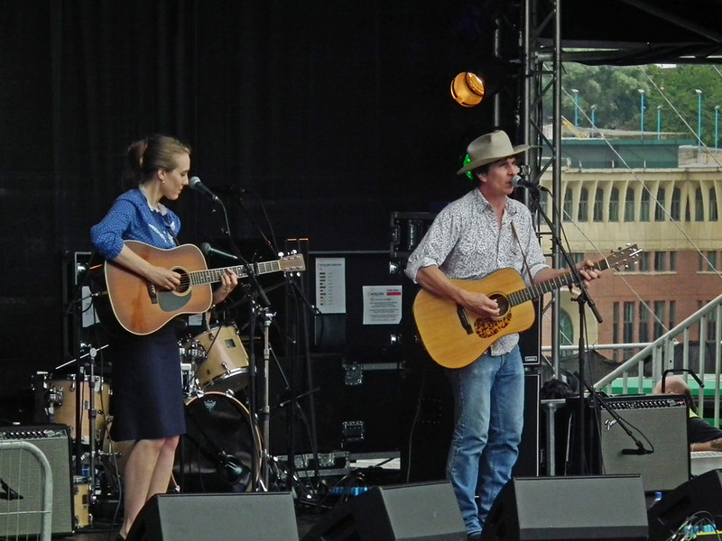 Brennan Leigh and Noel McKay at SummerTyne Americana Festival 2013