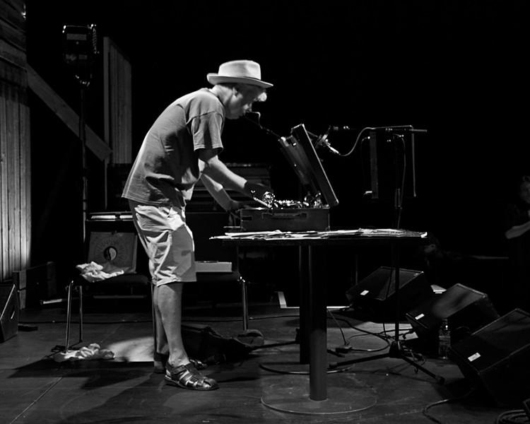 Shipcote playing 78RPM records